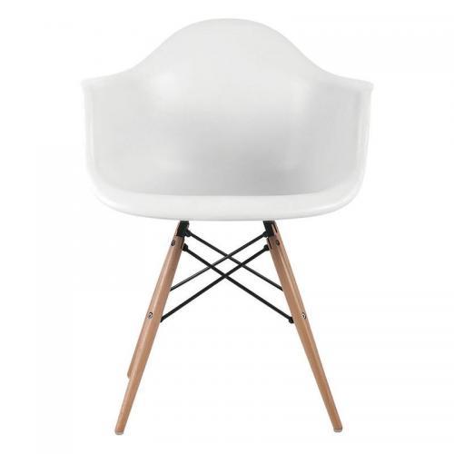 ALEA Wood Πολυθρόνα Ξύλο - ΡΡ Άσπρο