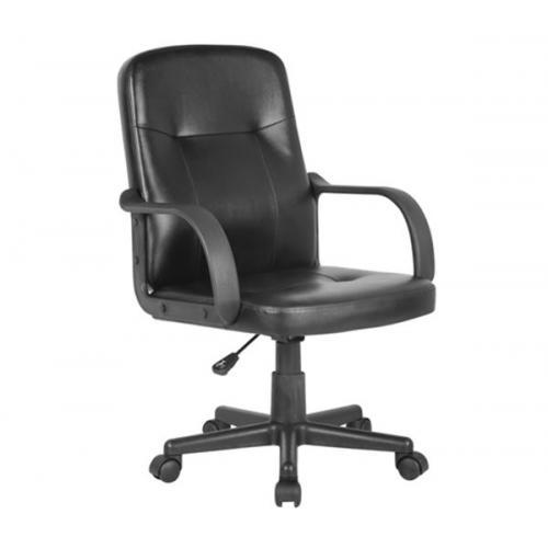 BF1300 Πολυθρόνα Γραφείου PU Μαύρο
