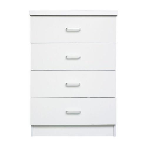 DRAWER Συρταριέρα με 4 Συρτάρια / Άσπρο