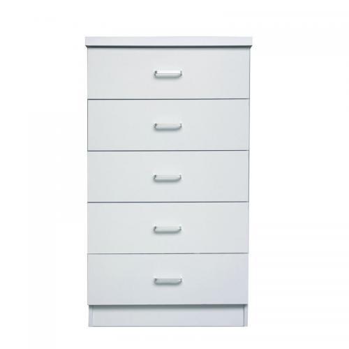 DRAWER Συρταριέρα με 5 Συρτάρια / Άσπρο