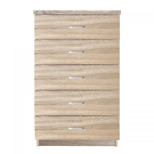 DRAWER Συρταριέρα με 5 Συρτάρια / Sonoma