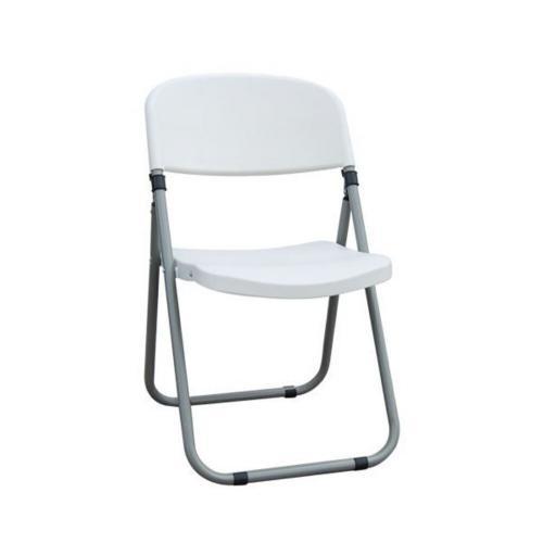 FOSTER Καρέκλα Πτυσσόμενη PP Άσπρο