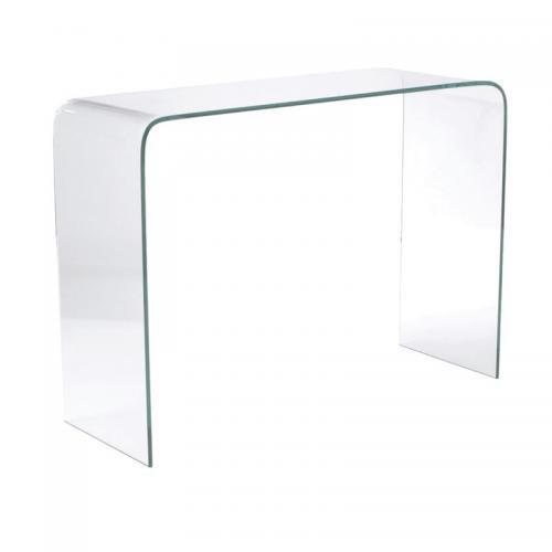 GLASSER Kονσόλα Διάφανο Γυαλί 12mm