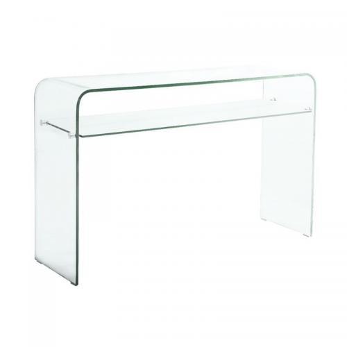 GLASSER Kονσόλα - Ράφι Διάφανο Γυαλί 12mm