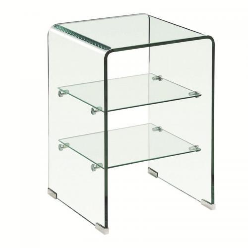 GLASSER Ραφιέρα Clear  2 Ράφια - Γυαλί 10mm / 5mm