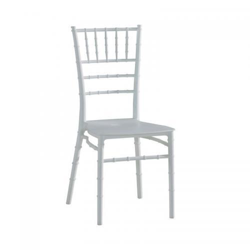 ILONA-W PP Καρέκλα Εστίασης - Catering Στοιβαζόμενη PP Άσπρο