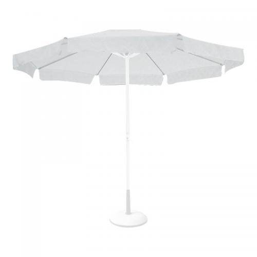 Ομπρέλα 3x3m Alu Πανί Ανταλλακτικό Άσπρο