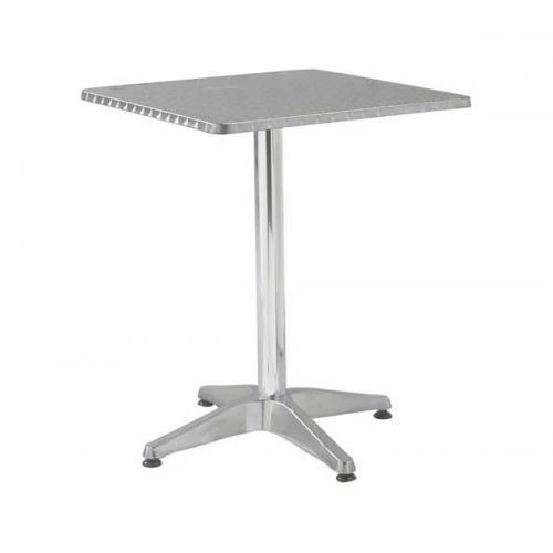 PALMA Τραπέζι Τετράγωνο Αλουμινίου