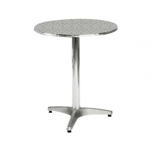PALMA Τραπέζι Στρογγυλό Αλουμινίου