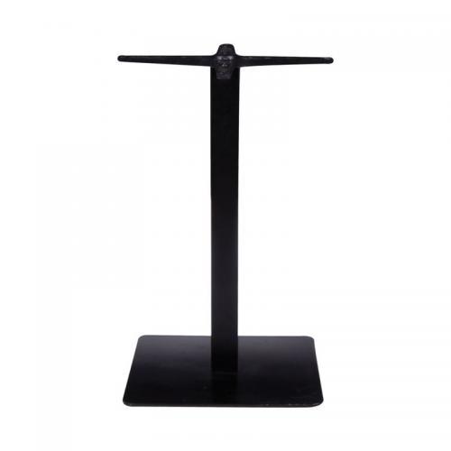 PRATO Βάση Τραπεζιού 50x50cm H.72cm Μέταλλο Βαφή Μαύρο / 17,50kg