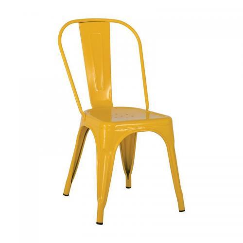 RELIX Καρέκλα - Μέταλλο Βαφή Κίτρινο