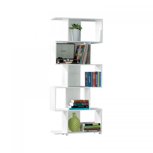 ROSS Βιβλιοθήκη - Ραφιέρα Άσπρο
