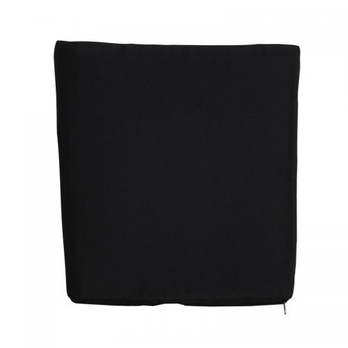 SALSA Μαξιλάρι 4cm Μαύρο (με φερμουάρ)