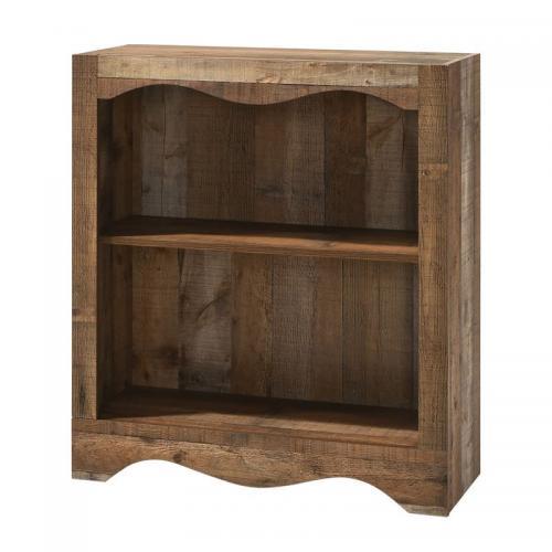SCARLET Βιβλιοθήκη 1 Ράφι Antique Oak