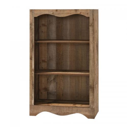 SCARLET Βιβλιοθήκη 2 Ράφια Antique Oak