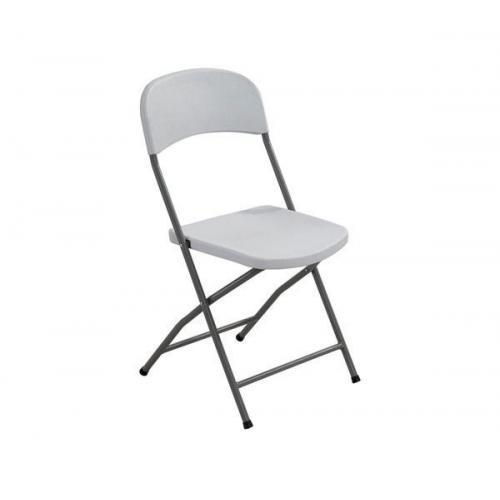 STREAMY Καρέκλα Πτυσσόμενη PP Άσπρο