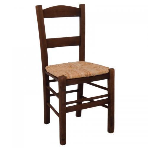 ΣΥΡΟΣ Καρέκλα Εμποτισμού Καρυδί