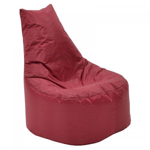 Πουφ πολυθρόνα Norm PRO pakoworld επαγγελματικό 100% αδιάβροχο κόκκινο