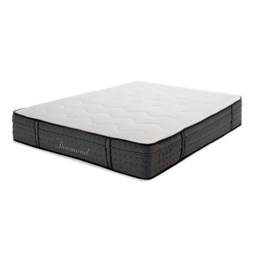 Στρώμα Diamond pakoworld pocket spring+gel memory foam 25-27cm 150x200εκ
