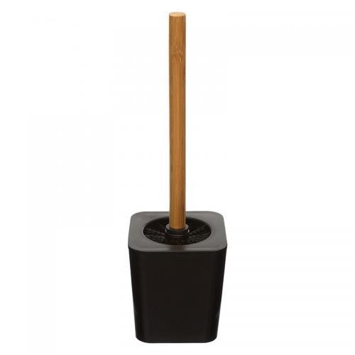 Βούρτσα μπάνιου pigal Nature pakoworld ps χρώμα μαύρο-φυσικό