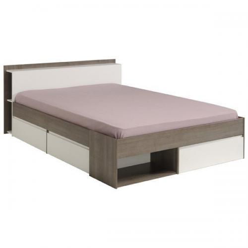 Κρεβάτι Tour-Καρυδί-160 x 200