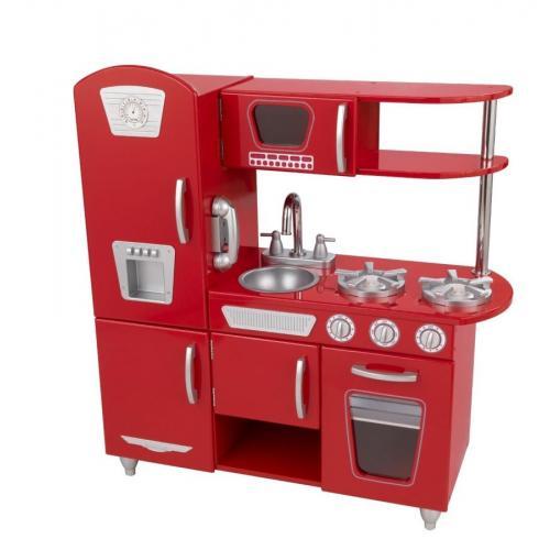 Κουζίνα KidKraft Vintage-Κόκκινο