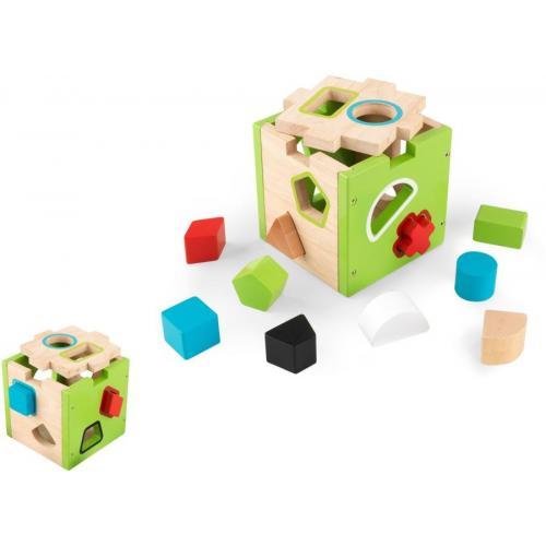 Κύβος KidKraft Shape Sorting