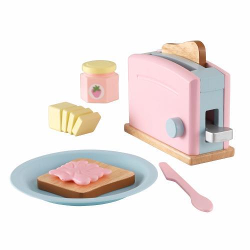 Σετ Φρυγανιέρας KidKraft Toaster - Pastel