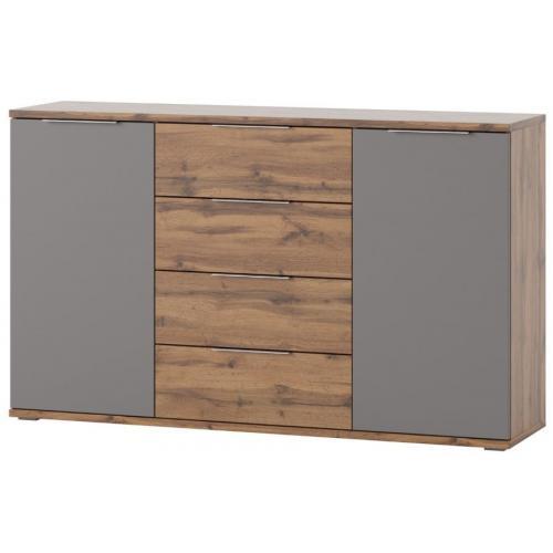 Συρταριέρα Ludost-Φυσικό - Γκρι