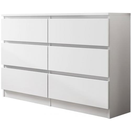 Συρταριέρα Malwa - 120-Λευκό