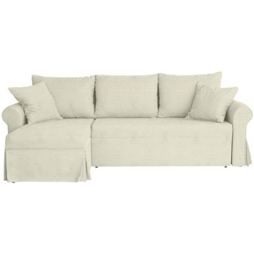 Γωνιακός καναπές Polipaco-Μπεζ