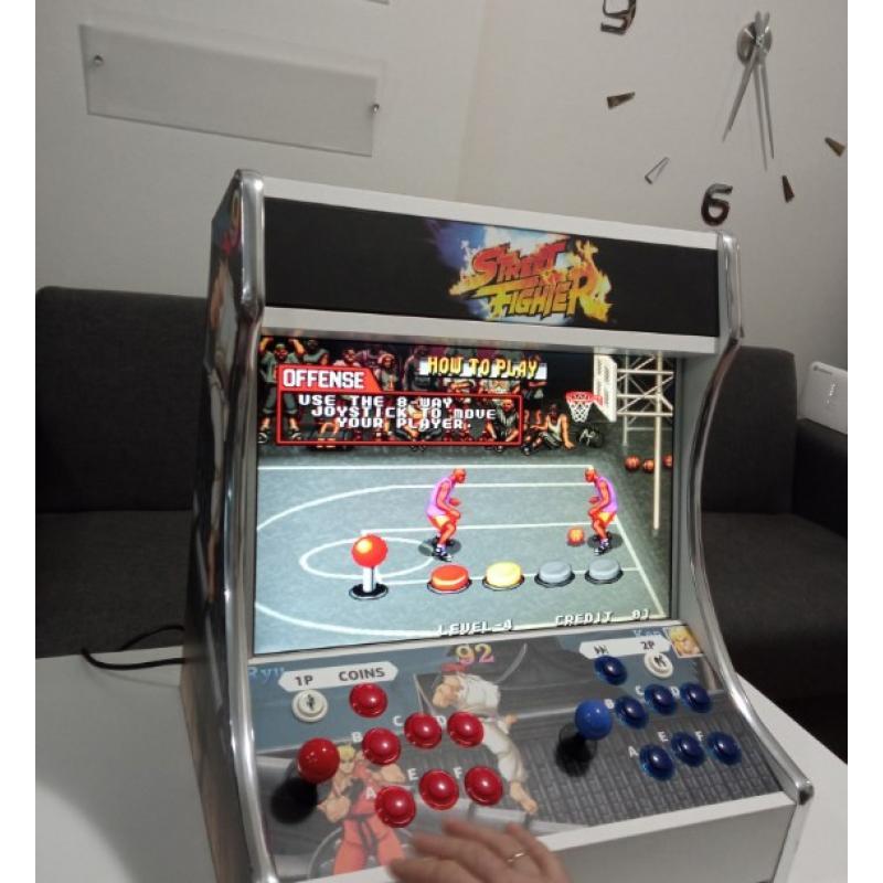 Καμπίνα χειροποίητη Arcade με τα τοπ 1500 παιχνίδια & Μεγάλη οθόνη tft 22 ιντσών